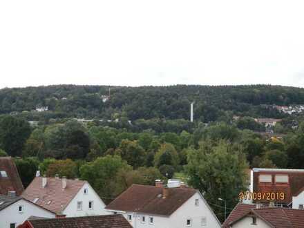 Mitten in der Stadt! NEUBAU Maisonettewohnung mit ruhigem Balkon und 7m Höhe im DG