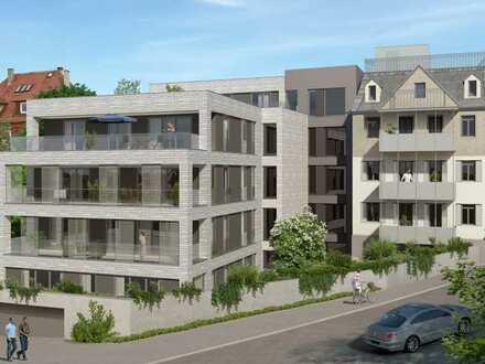 Penthouse-Wohnung mit Blick über die Stadt (Whg. 19) - Besichtigung am So, 14.06., 13 - 14 Uhr