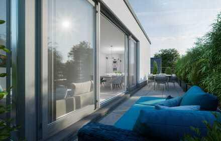 Exklusive Penthouse-Wohnung mit Kamin und Dachterrasse Bogenhausen Bezugsfertig NEUBAU