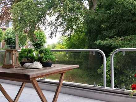 Eine Oase der Ruhe: 3-4 Zi.-Wohnung in vortrefflicher ruhiger und grüner Lage!