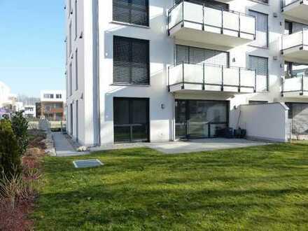 Exklusive Erdgeschosswohnung mit EBK und Garten in zentraler Lage