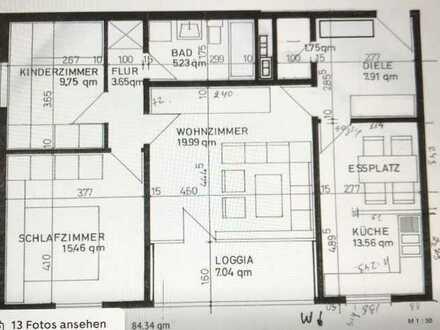 Exklusive 3-Zimmer-Wohnung mit Balkon in Mainz-Lerchenberg