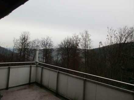 Nette, ruhige zwei Zimmer Whg mit Balkon/Keller/Garage in Waldkatzenbach