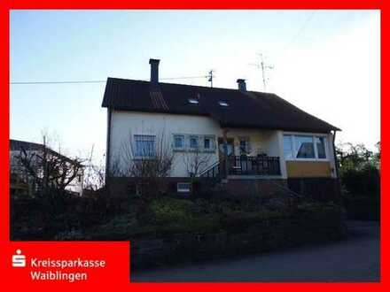 Perfekt gelegenes Einfamilienhaus in Rudersberg