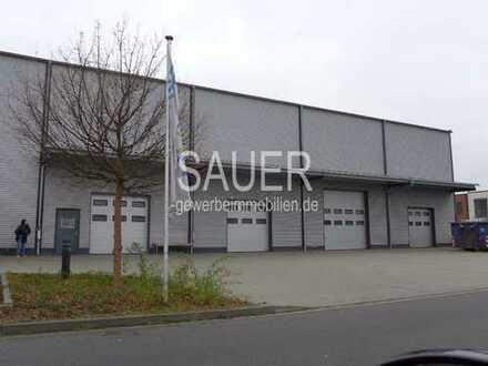 1.254 m² moderne stützenfreie Lagerhalle in Neubauqualität