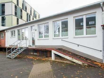 Zentrale Büroräume + Werkstatt + Lager + Stellplätze // direkt am UKSH, Brunswik