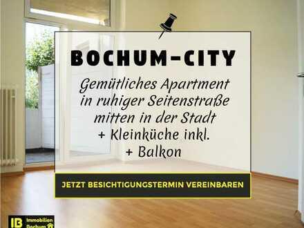 Beste Lage für Studenten, Azubis oder Pendler. Apartment mitten in der Stadt, ruhige Seitenstr.!