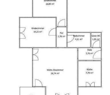 270.000 €, 80 m², 3 Zimmer