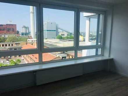 Schöne, helle 1,5 Zimmerwohnung mit Pantryküche un Skyline Blick