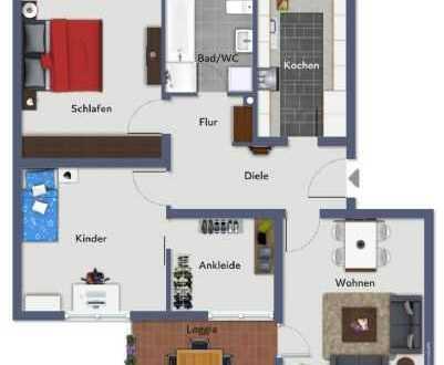 Modern-Stilvoll-Elegant- Wohnen mitten im Leben