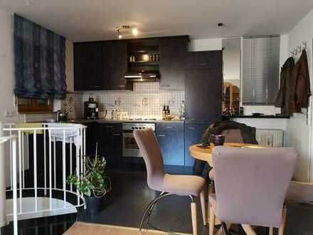 2 Zimmer Maisonette Wohnung komplett möbliert Ostfildern