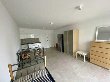 Erstbezug: exklusive 1-Zimmer-Appartement mit EBK und Terrasse in Karlsruhe
