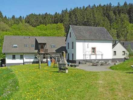 Landwirtschaftliches Anwesen mit Gästewohnungen mitten in der Eifel