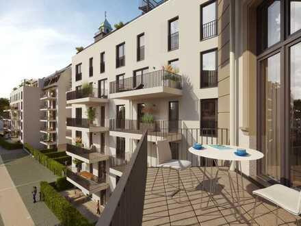 Family goes Nordend: Perfekte 3-Zimmer DG-Wohnung mit ~3m Raumhöhe, Wohlfühlbädern und Loggia