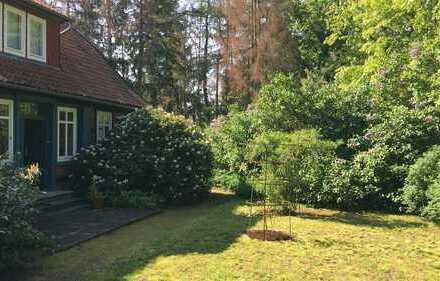 Helle 3-Zimmer Wohnung in historischem Fachwerkhaus mit eigenem Garten
