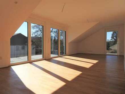 Ideal für ein anspruchsvolles Paar ... Neubau- Wohnung mit zwei Balkonen ...