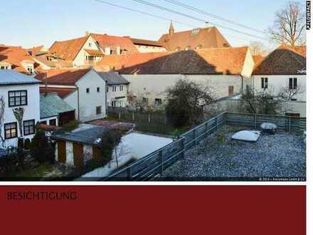 Attraktives Stadthaus mit Gewerbeteil in Top- Lage mitten in Weilheim mit ca. 760 qm Fläche