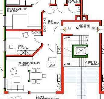 Exklusive Wohnung mit viel Platz in ruhiger Lage mit einzigartigem Ausblick