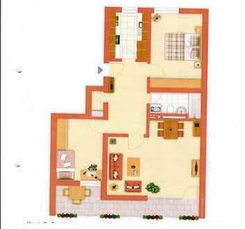 Praktisch geschnittene 3 Zimmer Wohnung, ab sofort frei