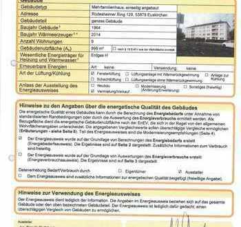 Gepflegte 2-Zimmer-Dachgeschosswohnung mit EBK in Euskirchen