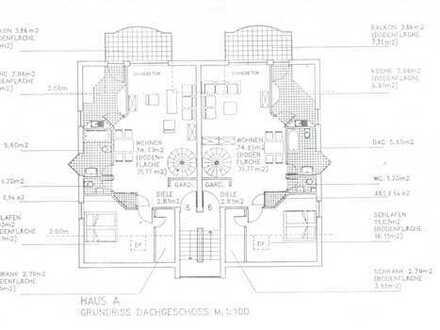 Gepflegte 3-Raum-Maisonette-Wohnung mit Balkon in Gelnhausen Hailer
