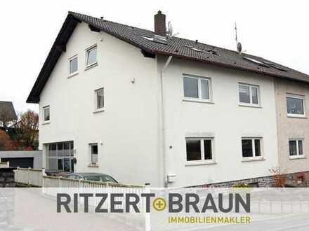 Gepflegtes Zwei- bis Dreifamilienhaus in guter Haibacher Lage!