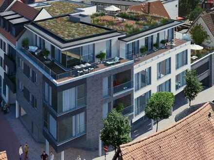 Erstbezug: exklusive 2-Zimmer-Wohnungen von 76 - 103 qm mit Balkon im Herzen von Hofheim