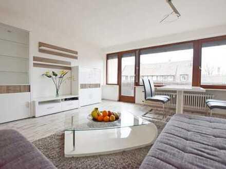Jung und dynamisch - Möblierte 2-Zimmer Wohnung mit Balkon
