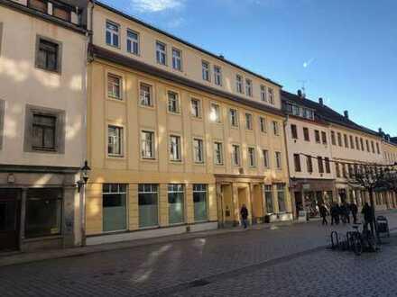 Ladengeschäft Fußgängerzone Petersstraße in Freiberg