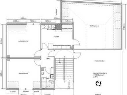 3,5 Zimmer Wohnung in Bochum, Hofstede