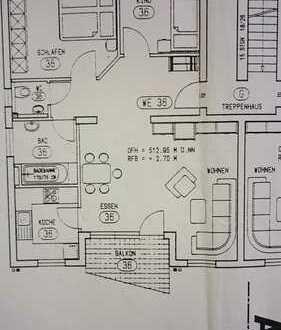 Schöne drei Zimmer Wohnung in Rems-Murr-Kreis, Welzheim