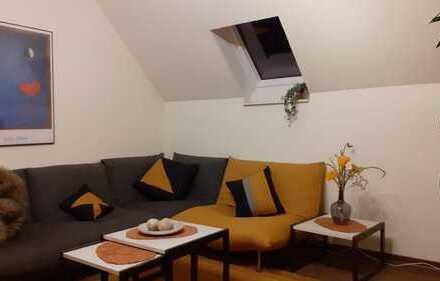 Vollmöblierte, ruhige Wohnung, 2Zi, Küche, Bad in Moers mit guter Autobahnanbindung