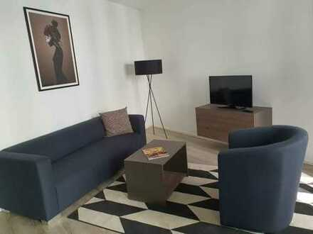 komplett ausgestattetes, möbliertes Business-Apartment mit Balkon - D13 - bezugsfrei ab 01.11.2019