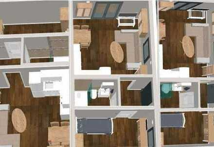 Stilvolle möblierte 2-Zimmer-EG-Wohnung mit EBK und Terrasse in Teltow ohne Makler