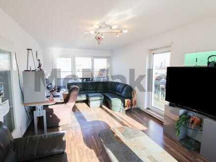 Lichtdurchflutetes Penthouse mit Traumausblick: 2-Zi.-Apartment mit 2 Dachterrassen und Aufzug