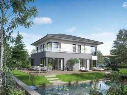 Ebenerdiges Grundstück - in Glashütten - Planen Sie ihr Neubau (Version mit Keller)