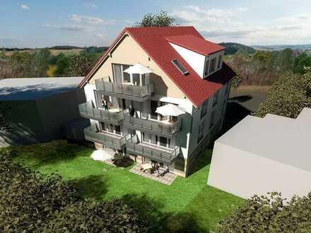 Helle Dachgeschoss Wohnung mit Panorama Aussicht