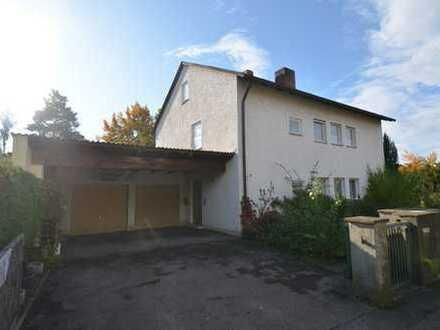 Renovierungsbedürftiges leeres 2-3-Familienhaus Wfl.230 qm in Lappersdorf-Kareth