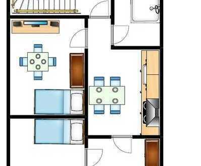 Schöne 2-ZKB Wohnung in Losheim am See