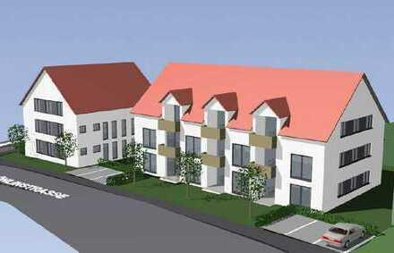 Neubau in zentrumsnaher Lage (Erstbezug) stilvolle 2-Zimmer-Wohnung in Illertissen