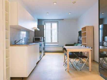 UNBEFRISTET: Schönes möbliertes Zimmer (13qm) in 6er WG mit großer Wohnküche