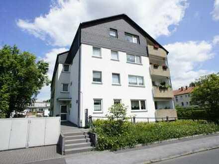 Seniorengerechte 1-Zimmer-Wohnung mit großem Balkon für Mieter ab 50 Jahre! WBS erforderlich!