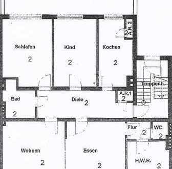 4-Zimmer Wohnung mit großer Terrasse im 1.OG