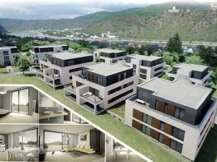 Exklusive Penthouse Wohnung mit atemberaubenden Rundumblick in Boppard / Bad Salzig! WE 7 Haus A1