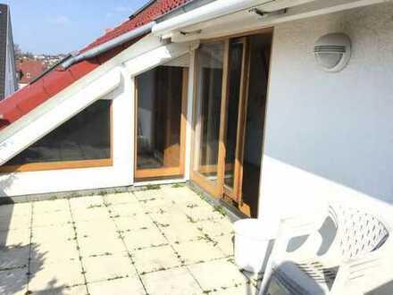 jetzt KAUFEN statt Mieten: großzügige Dachgeschoßwohnung mit toller Sonnenterrasse (Loggia)