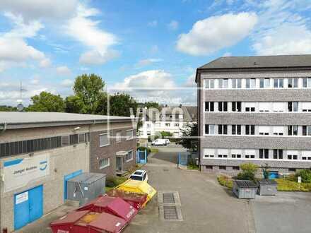 Vielseitig nutzbare Gewerbehalle mit Krananlage und hochwertigen Büroeinheiten inkl. Sozialräumen