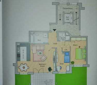 Gepflegte 3-Raum-Wohnung mit Balkon in Leverkusen