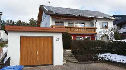 Schöne 4-Zimmer-EG-Wohnung mit Balkon und Einbauküche in Dornhan