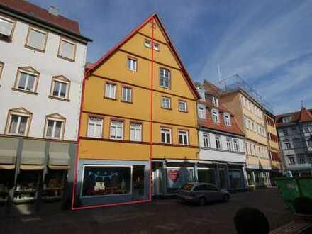 Fachwerkhaus mit Gewerbeeinheit -ES-Stadt