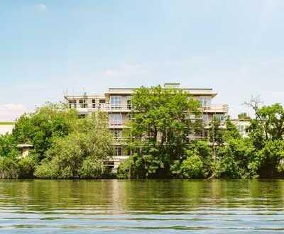 """MAYNBLICK"" Penthouse mit 3,6 Meter Deckenhöhe direkt am Wasser"